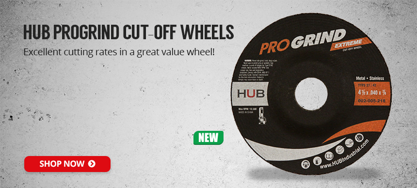 HUB PROGRIND Cut-Off Wheels