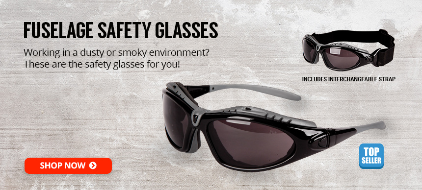 Fuselage Safety Glasses