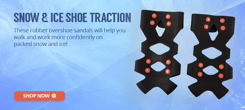 Snow & Ice Shoe Traction Device