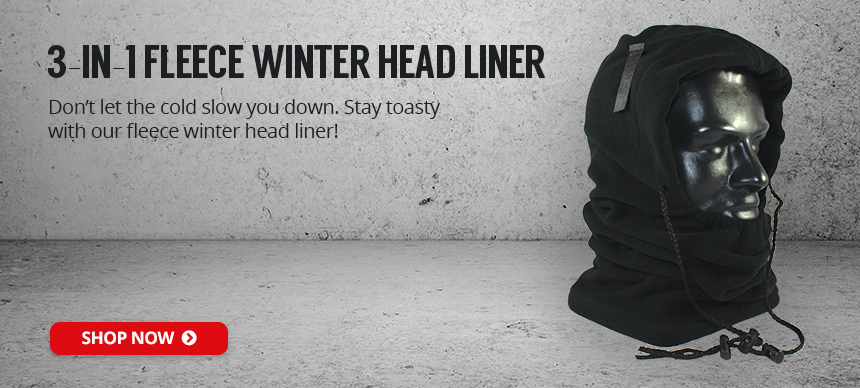 Get Your 3-in-1 Winter Head Liner Today!